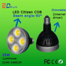 CE RoHs warranty 3 years purple par38 led spot light 20w-70w