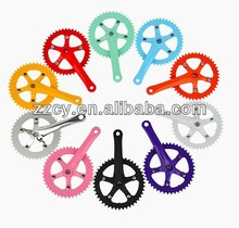 2014 colors bike crank & chainwheel low price good quality