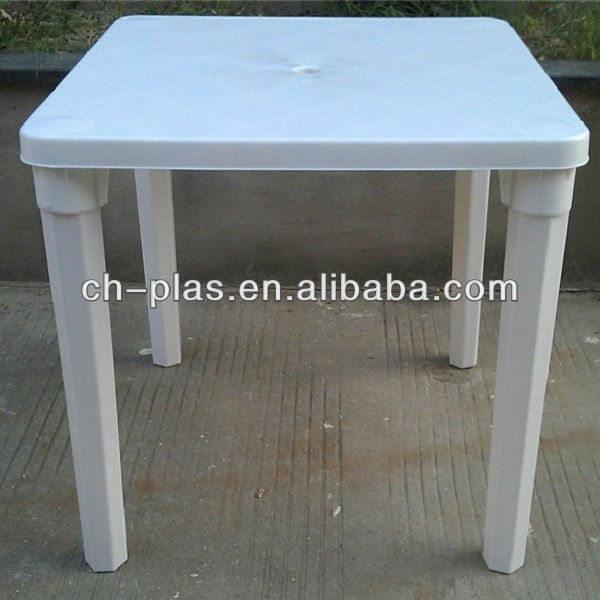 High Quality Plastic Square Kids Table With Removable Legs