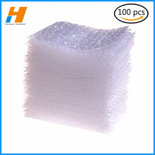 100 packs self-seal clear bubble bag pouch