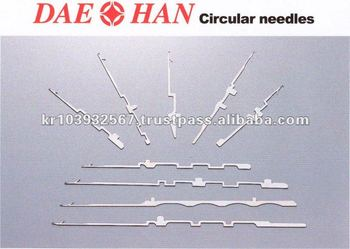CIRCULAR KNITTING MACHINE NEEDLES