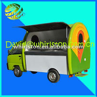 Mini-truck model electric food cart/ice cream vending truck cart