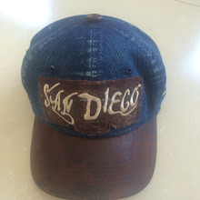 wholesales costom wash denim baseball cap from qing dao