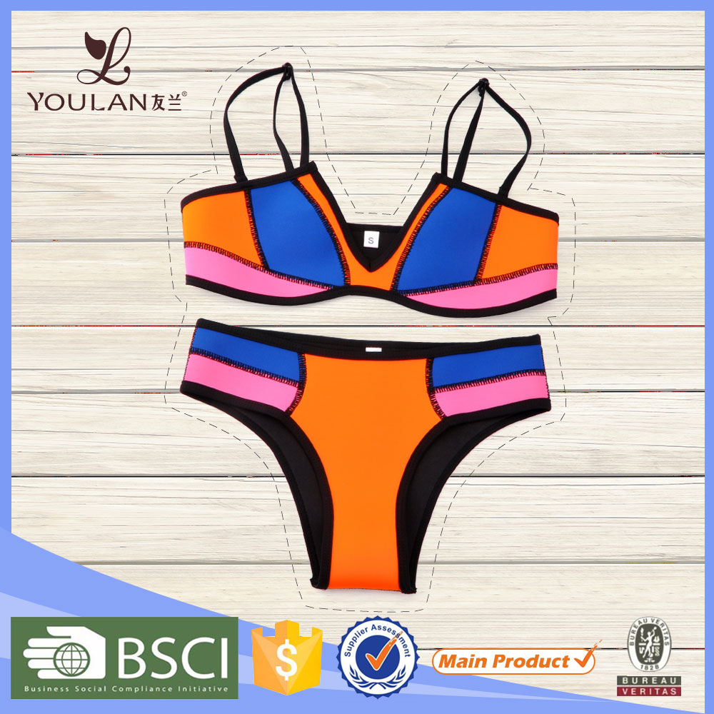 New Collections active bikini transparent bikini model