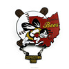 Custom Bees Logo Club Sports Enamel