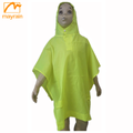 100% waterproof breathable Polyester Children/kids raincoat