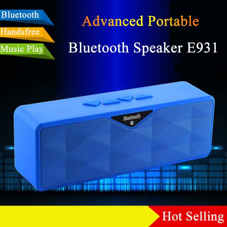 Attractive And Durable S10 New Subwoofer USB Mini Bluetooth Speaker Box E931 rechargeable speaker