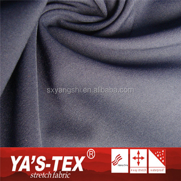 Wholesale Twill Polyester 4 Way Stretch Dacron Woven Fabric For Outdoor Sportswear