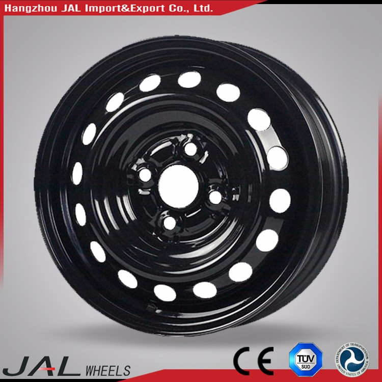 Auto Part High Performance High End Custom Made Top Quality Silver Color Best Design 15x7 steel wheels