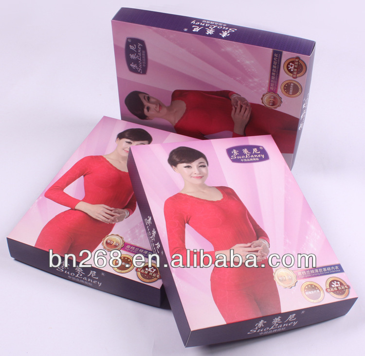 Factory Customized Design Women Paper Underwear Packaging