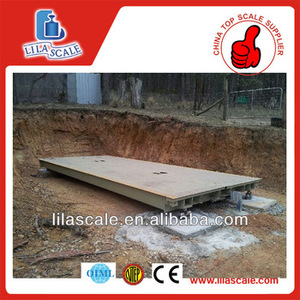 Electronic truck scale industrial weighbridge digital weight scales 20T Yaohua indicator