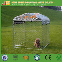 6'H x10'W x 10'D large outdoor galvanized Chain Link dog Kennel & dog run & dog fence panel with cover