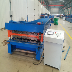 Aluminium Profile Roof Panel Roll Forming Iron Sheet Making Machine made in China