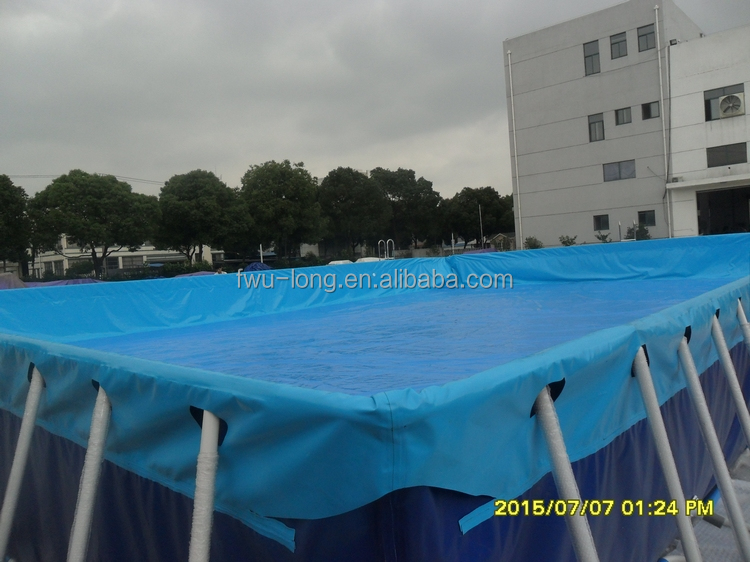 Fwulong best price above ground pools metal frame pool for for Large swimming pools for sale