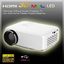 AC100-240V/50-60hz LCD portable pico projector beamer screem for TV