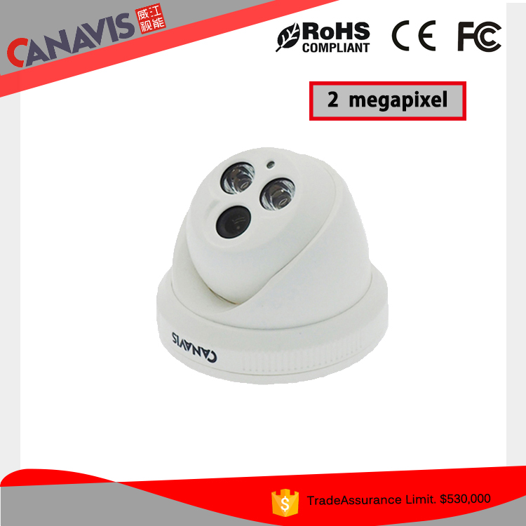 Indoor hd 1080p and 2.0megapixel cctv dome camera oem