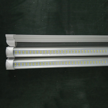 NEW Integrated 1.2m 4ft 22W Led T8 Tube Lights SMD2835 120 Leds High Bright 2400lm Warm/Cool White Frosted/Transparent Cover