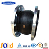 DN200 single sphere expansion rubber joint