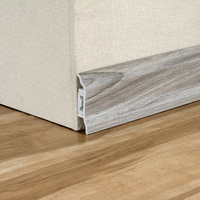 New Arrival Flooring Accessories Vinyl Wall Skirting PVC Baseboard Trim