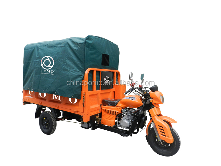 Hot Sale POMO YANSUMI Tricycle Gasoline, Motorcycle 3 Wheel, 2 Front Wheel Trike