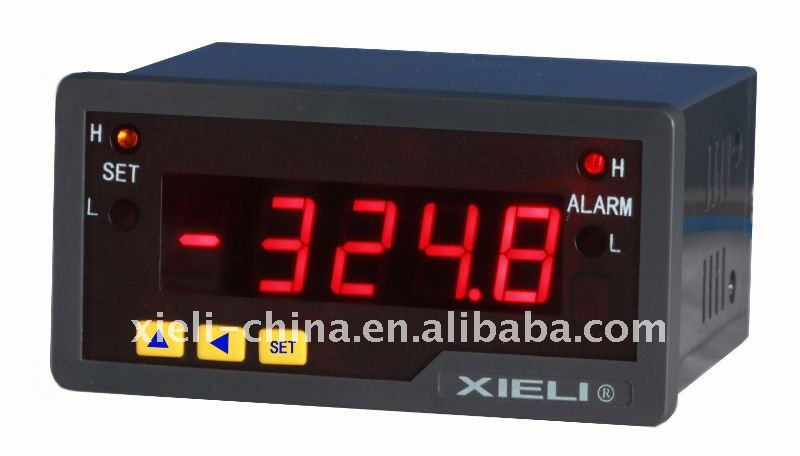 Digital panel meter Measuring Car Truck Motorcycle Bike and Boats wind electrical system