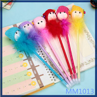 2016 free sample colorful promotional pens cute stationery for school for kids ballpoint pen wholesale