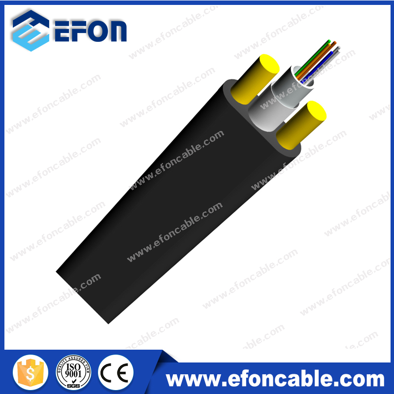 2 4 6 8 10 12 Single mode Fibers Flat Aerial Drop Cable