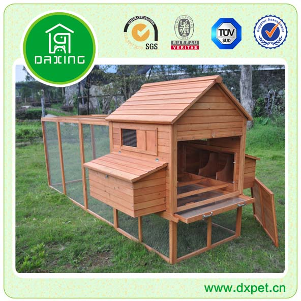 The Woodland 6 Bird Handmade Hen House DXH017