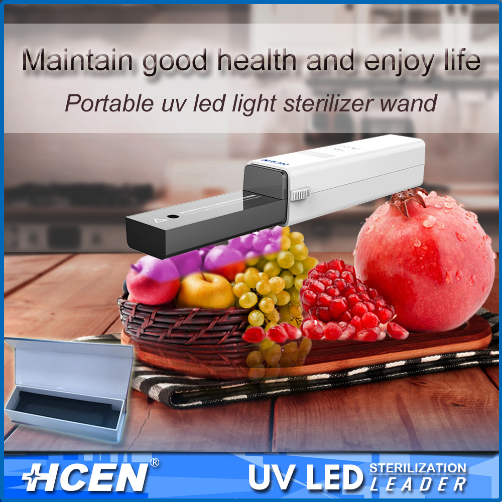 Mini handheld ultravioled light uv food sterilizer wand