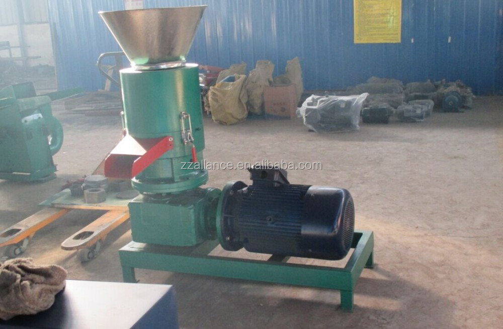 618 flat die pellet making machine pellet mill with CE