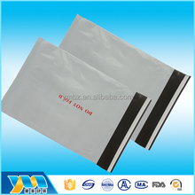 Eco-friendly biodegradable hdpe ldpe express custom grey poly mailing bags