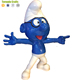 Zhen xin qi crafts Indoor Shop Decoration Fiberglass Cartoon Character Statue Resin Smurf Statue
