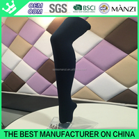 MANZI manufactory professional OEM sample pantyhose free winter thermal warm fleece high quality nylon feet tube pantyhose