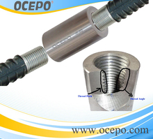 Building Material Rebar Parallel Thread Mechanical Coupler