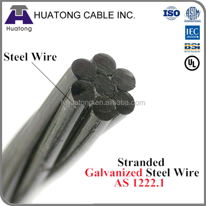 low price !Galvanized Stranded Wire/ bare wire/Stranded conductor