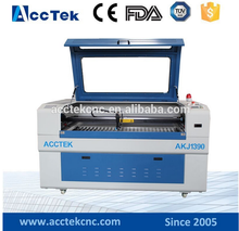 CE FDA economic professional 60/80/100/130/150/180W cnc laser diode cutting AKJ1390 for wood ,stone,Acrylic,MDF,Leather,Plywood