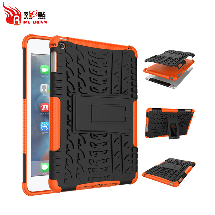 New Design Rugged Hybrid Cover Shockproof Case Cover For Ipad Mini 4