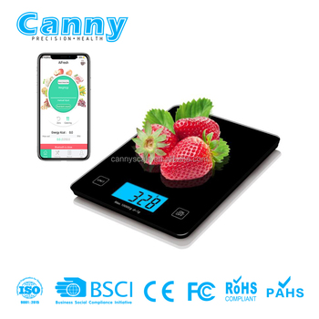 CK650BT Smart Digital Kitchen Scale with iFresh APP