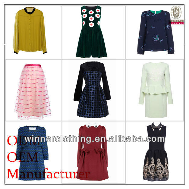Women's your own brand designer ladies' clothing 2014