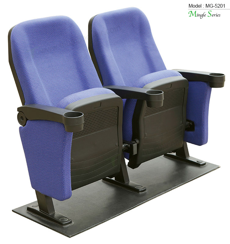 Triumph wholesale university used auditorium chairs with cup holder cheap folding church chairs , fabric cinema chair