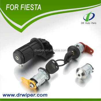 AUTO CAR PARTS WHOLESALE FOR FORD FIESTA COMPLETE DOOR LOCK REPAIR KIT SET FRONT RIGHT-LEFT