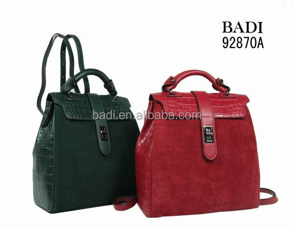 Thailand genuine crocodile leather skin famous brand designer handbags made in china