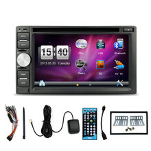 Double Dins 6.2inch Video Touch Screen Car Radio Cassette Player