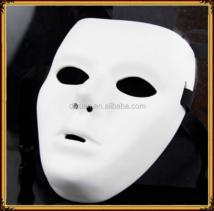 Guest's dance ghost dance step High-grade resin material White mask dance