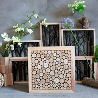 hotel decoration wood decoration pieces home decoration wall hanging wood