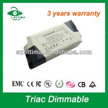 led power supply 320mA led driver 18w Traic Dimming driver saa approved