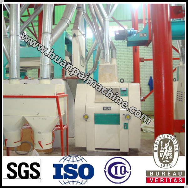 Compact wheat corn maize flour mill machines