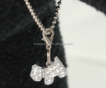 Wholesale necklace with animal dog,necklaces with childrens initials