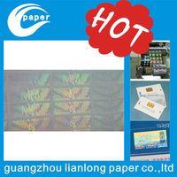 security id card hologram sticker