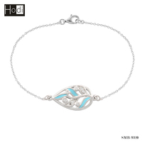 China factory 925 sterling silver jewellery bracelet for women